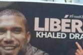 الجزائر: وقفة احتجاجية تضامنية مع الصحافي والناشط المسجون خالد درارني