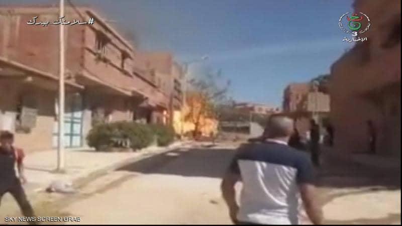 5 قتلى في انفجار أنبوب غاز جنوب غربي الجزائر