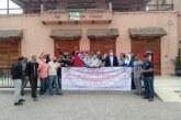 عمال فندق ومطعم بساحة جامع الفنا في إعتصام مفتوح ومطالب للسلطات بالتحرك