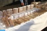 توقيف شخصين للاشتباه في تورطهما في الاتجار الدولي في المخدرات وحجز طن من مخدر الشيرا