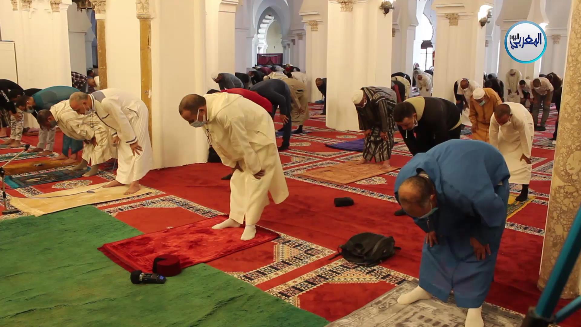 بالفيديو… صلاة الجمعة بمسجد الكتبية بمراكش في جو روحاني بديع