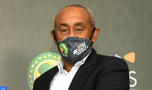 إصابة رئيس الكونفدرالية الإفريقية لكرة القدم بفيروس كورونا