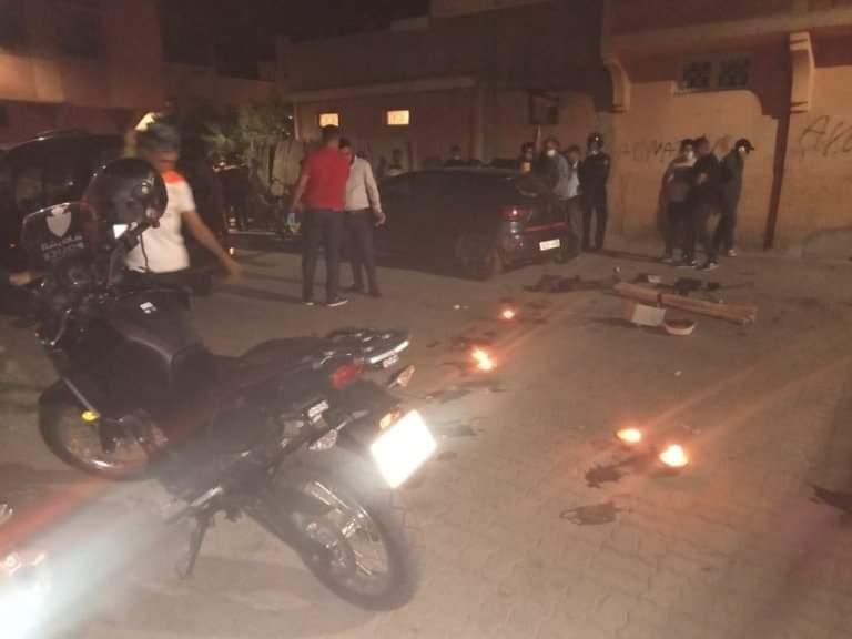 تصوير فيديو كليب بالأسلحة البيضاء يستنفر أمن مراكش