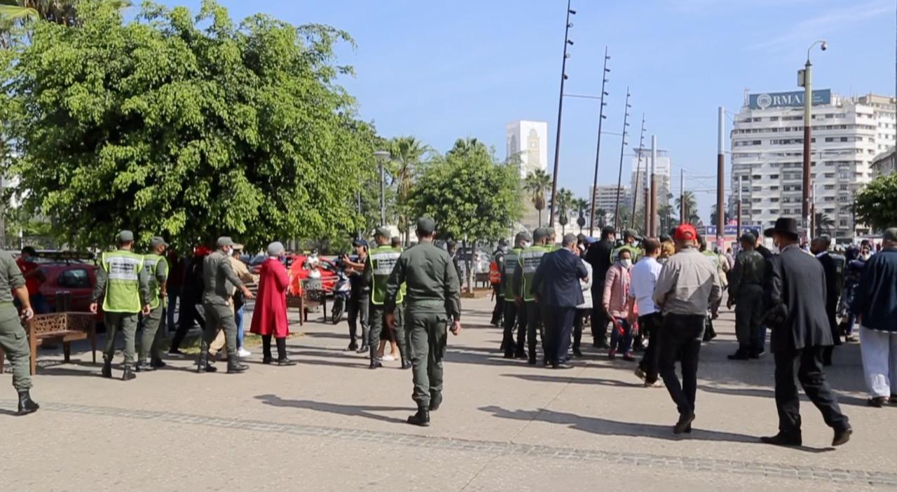 سلطات البيضاء تمنع وقفة احتجاجية للعاملين في قطاع تنظيم الحفلات