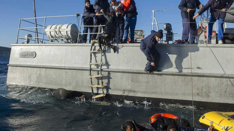 البحرية الملكية.. تنقذ 50 مرشحا للهجرة غير الشرعية