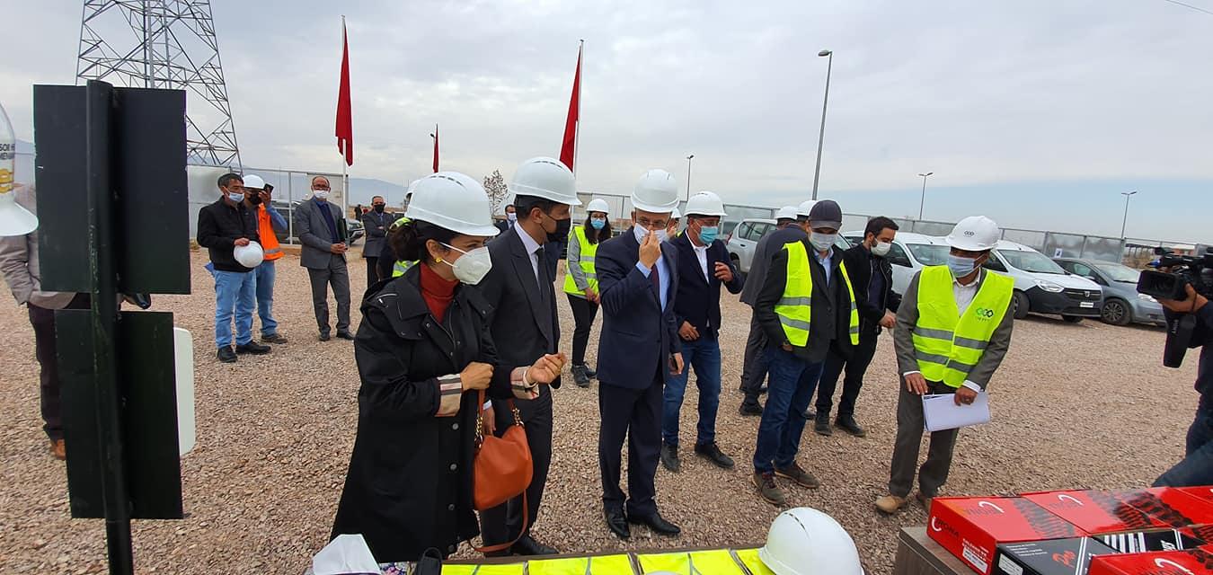 بني ملال.. زيارة ميدانية للوقوف على أشغال بناء مدينة المهن والكفاءات
