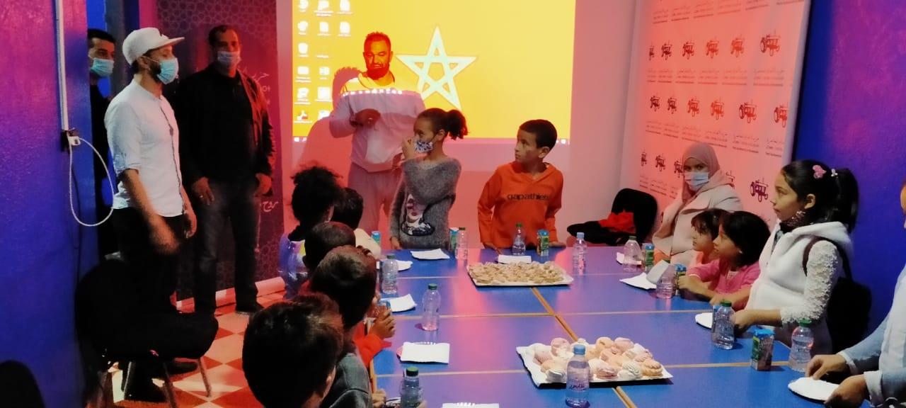 مراكش: البام بمقاطعة سيدي يوسف بن علي ينظم يوما دراسيا ترفيهيا لفائدة الأطفال