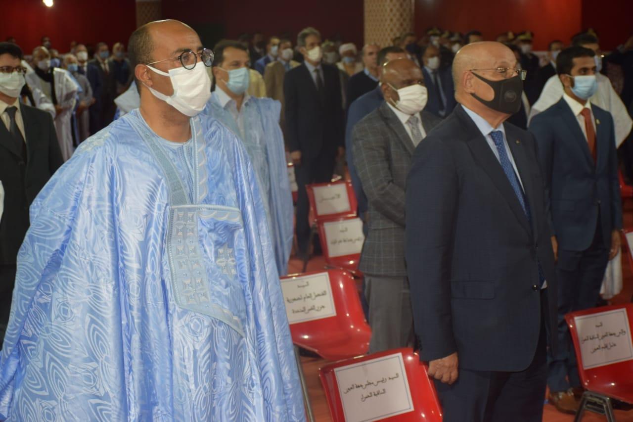 العيون : حضور بارز في مراسيم الإنصات للخطاب الملكي السامي
