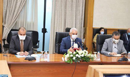 آيت الطالب يعلن قرب إطلاق حملة تواصلية بشأن عملية التلقيح ضد كورونا