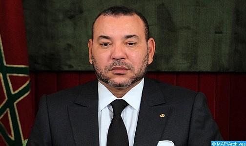 الملك يعزي ويواسي أفراد أسرة المرحوم الفنان محمود الإدريسي