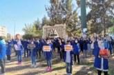 التنسيقية الوطنية لطلبة الفنون والمهن في وقفات احتجاجية ضدا في الوزارة الوصية