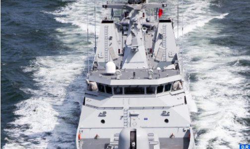 البحرية الملكية تجهض عملية لتهريب المخدرات في عرض المتوسط