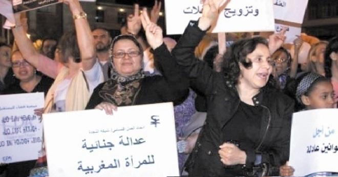 اتحاد العمل النسائي… و التحسيس بظاهرة العنف ضد النساء ومعاناتهن مع الجائحة
