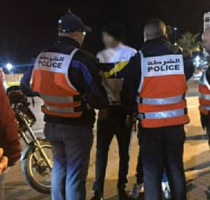 فاس.. تحييد الخطر الناتج عن شخص عرض سلامة المواطنين وعناصر الشرطة للخطر