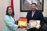 تكريم محمد العربي المرابط رئيس مجلس عمالة المضيق الفنيدق
