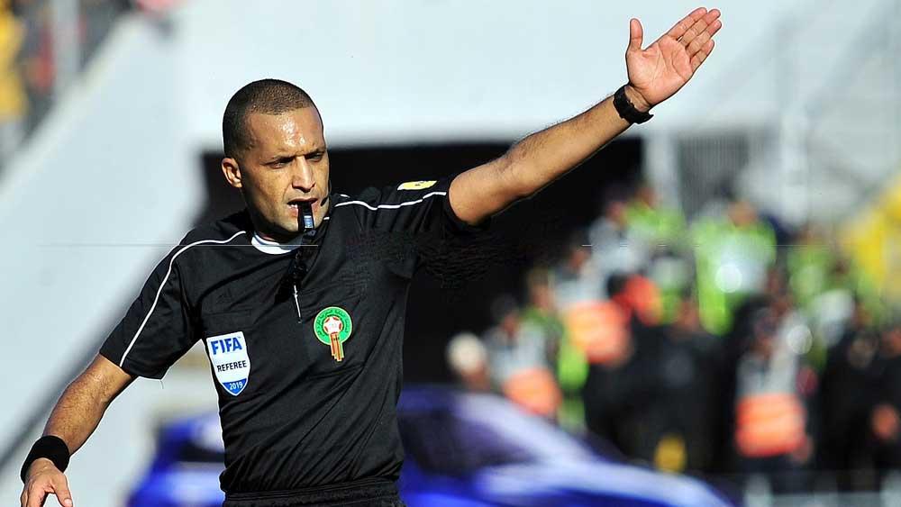 الحكم المغربي رضوان جيد ضمن قائمة حكام مباريات كأس العالم للأندية