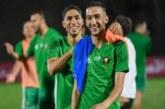 فرانس فوتبول: زياش وحكيمي ضمن تشكيلة الفريق الإفريقي النموذجي لـ 2020