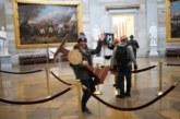 القبض على سارق منصة رئيسة مجلس النواب الأمريكي