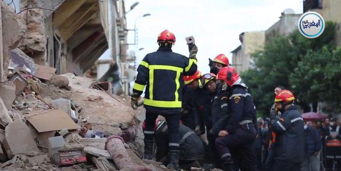 بالفيديو… شاهد لحظة انهيار منزل بدرب مولاي الشريف بالحي المحمدي بالدار البيضاء مشاهد صادمة