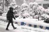 برد قارس وأمطار متفرقة وثلوج كثيفة بهذه المناطق